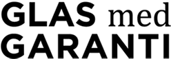 Glas med Garanti Logo
