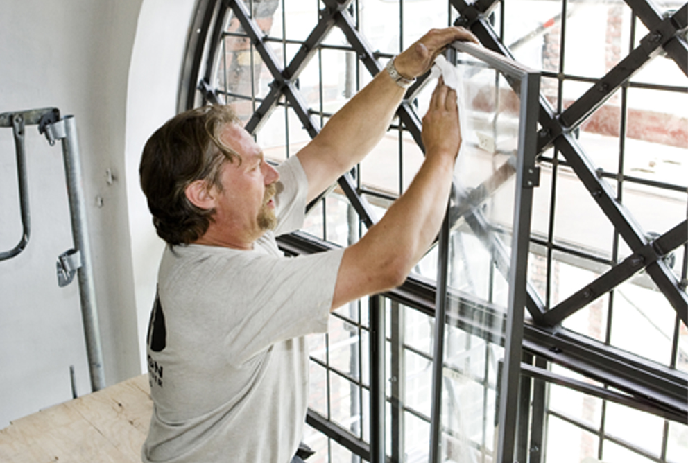 Vindue Rengøring og vedligeholdelse