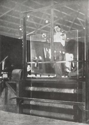 Trukket glas er en af de historiske glastyper
