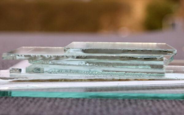 Der findes mange glastyper, både historiske og nyere typer